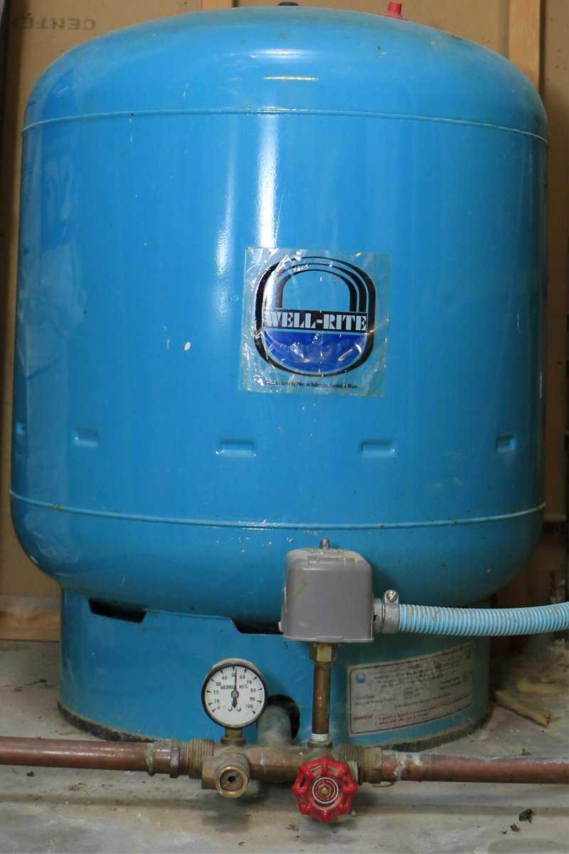 Well Pressure Tank
